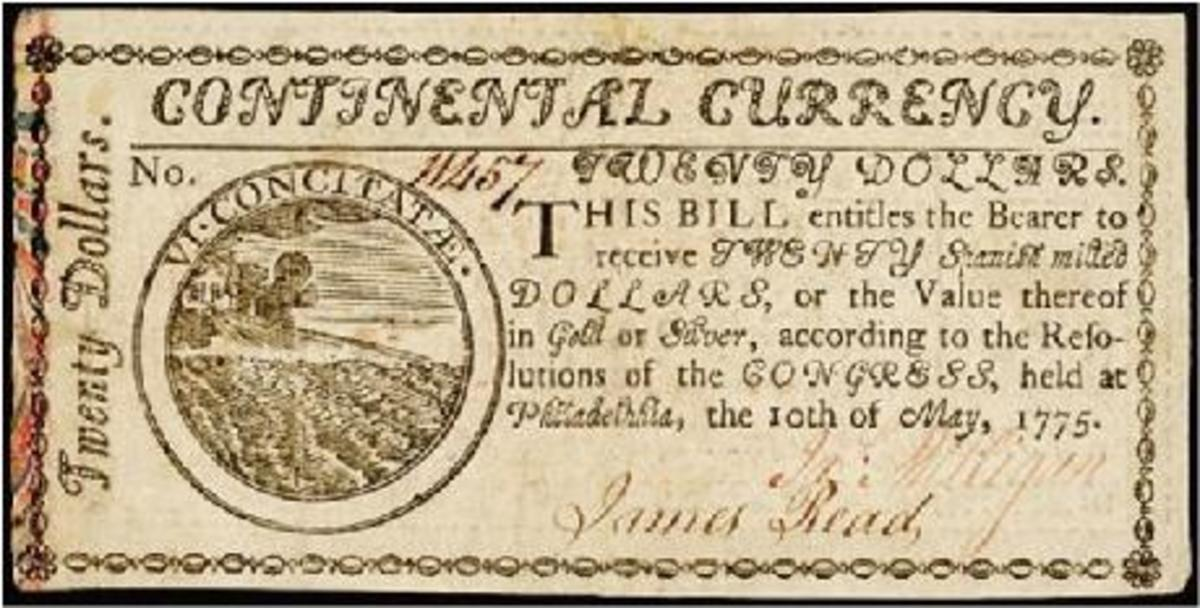 Continental Currency was the first form of money that the new nation - the United States, tried to use.