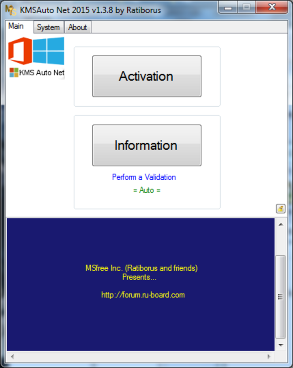 KMS exploit will work for  Windows 8 and Office suites