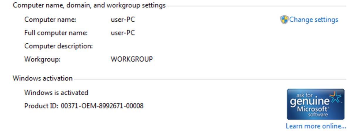 windows 7 genuine activator software pc