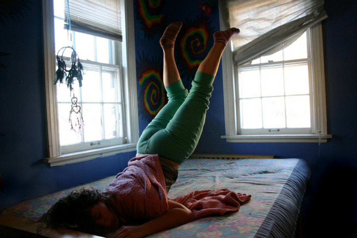 The Hypnic Jerk is a sensation experienced ocasionaly by most people during the onset of sleep.