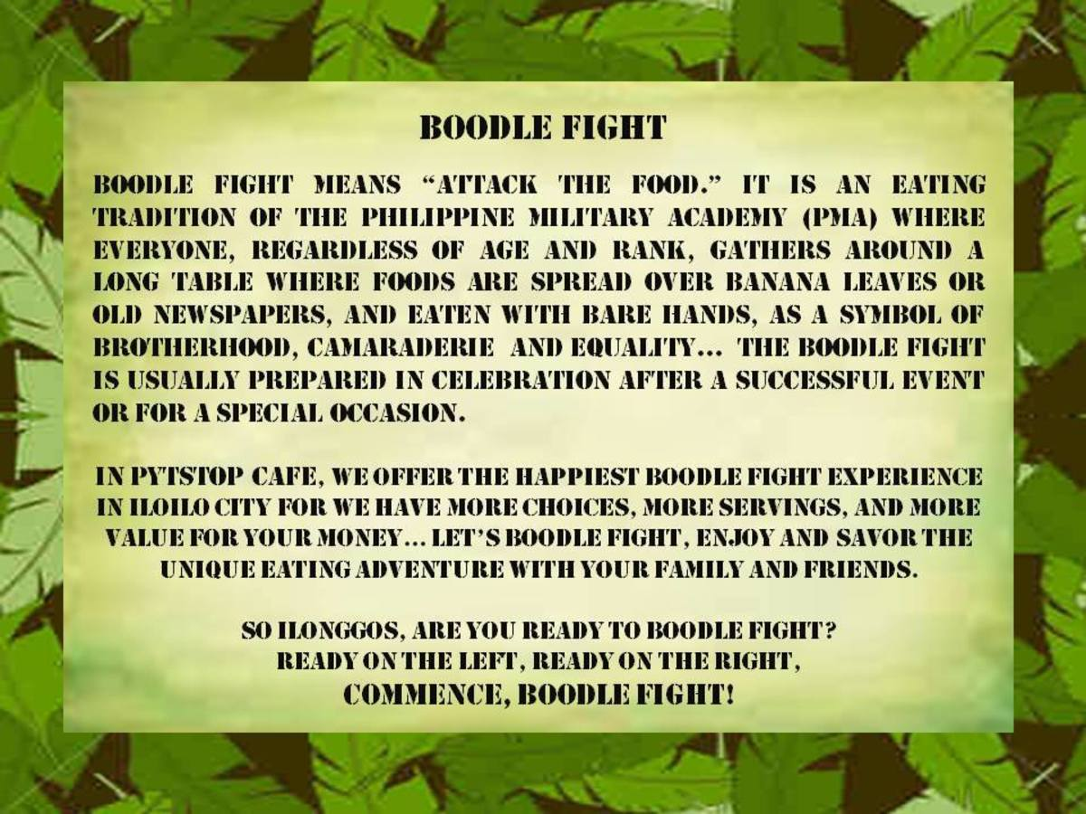 Definition of Boodle Fight...