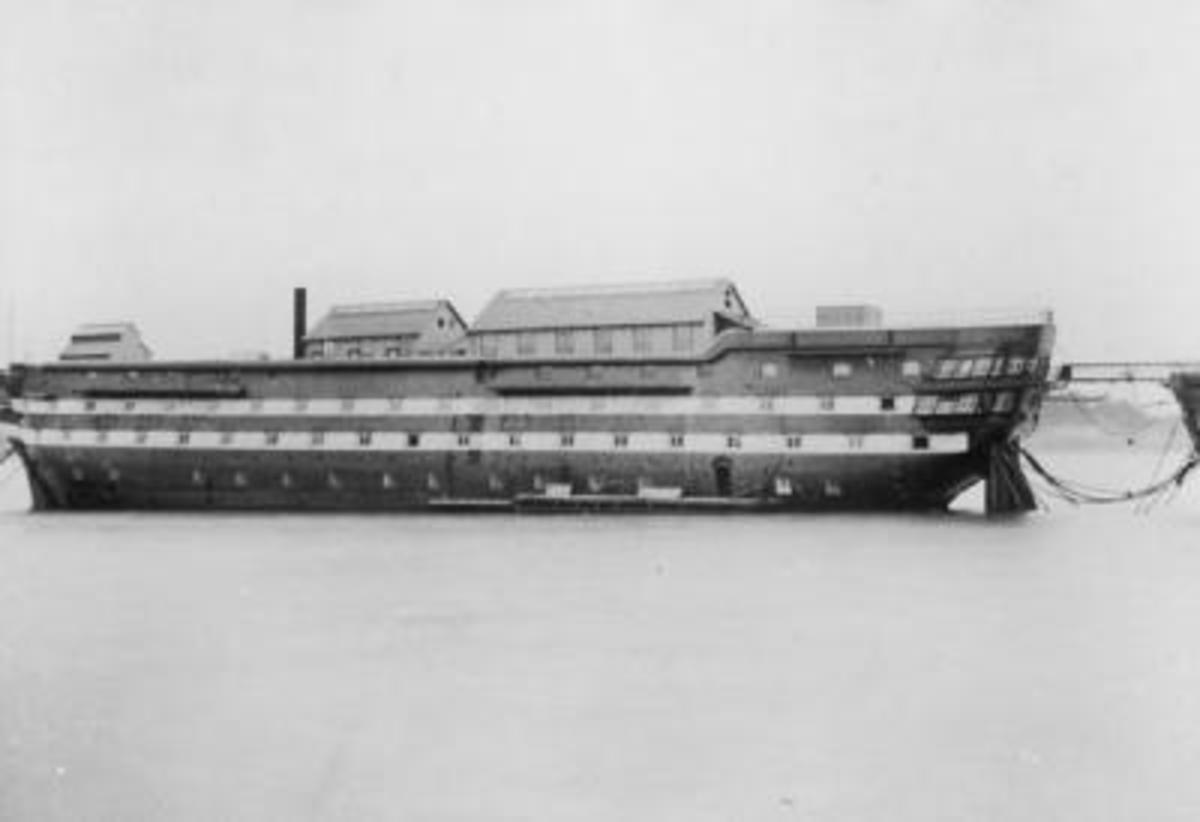 Another view of hospital ship Atlas