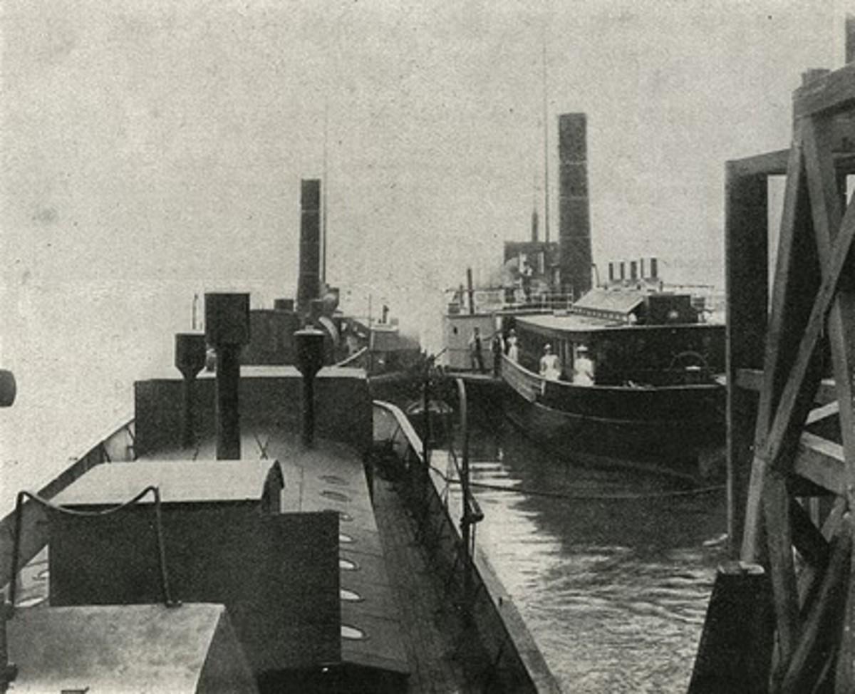 Smallpox river ambulances