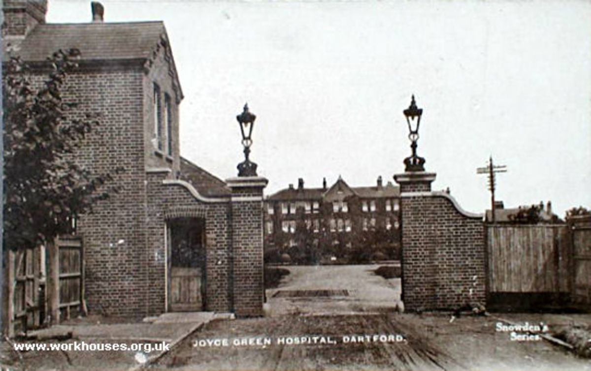 Joyce Green hospital main gate