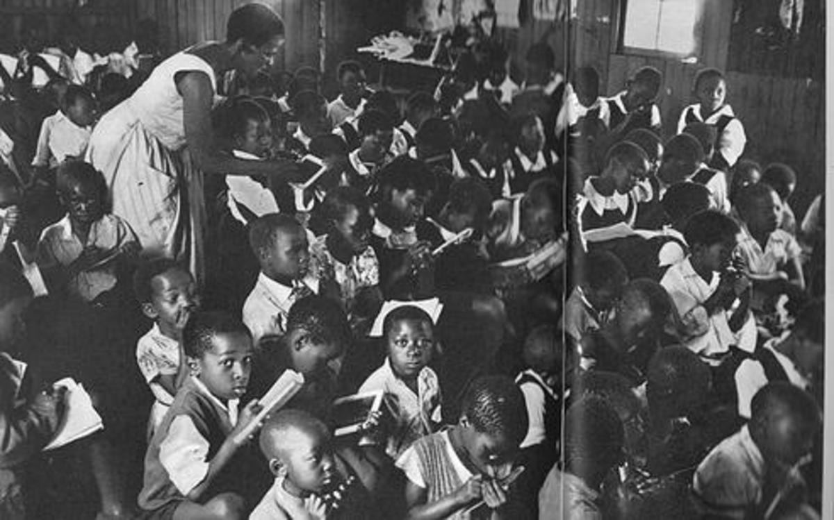 Looking Into the Past Apartheid Education For Children in the 1950s and 1960s...