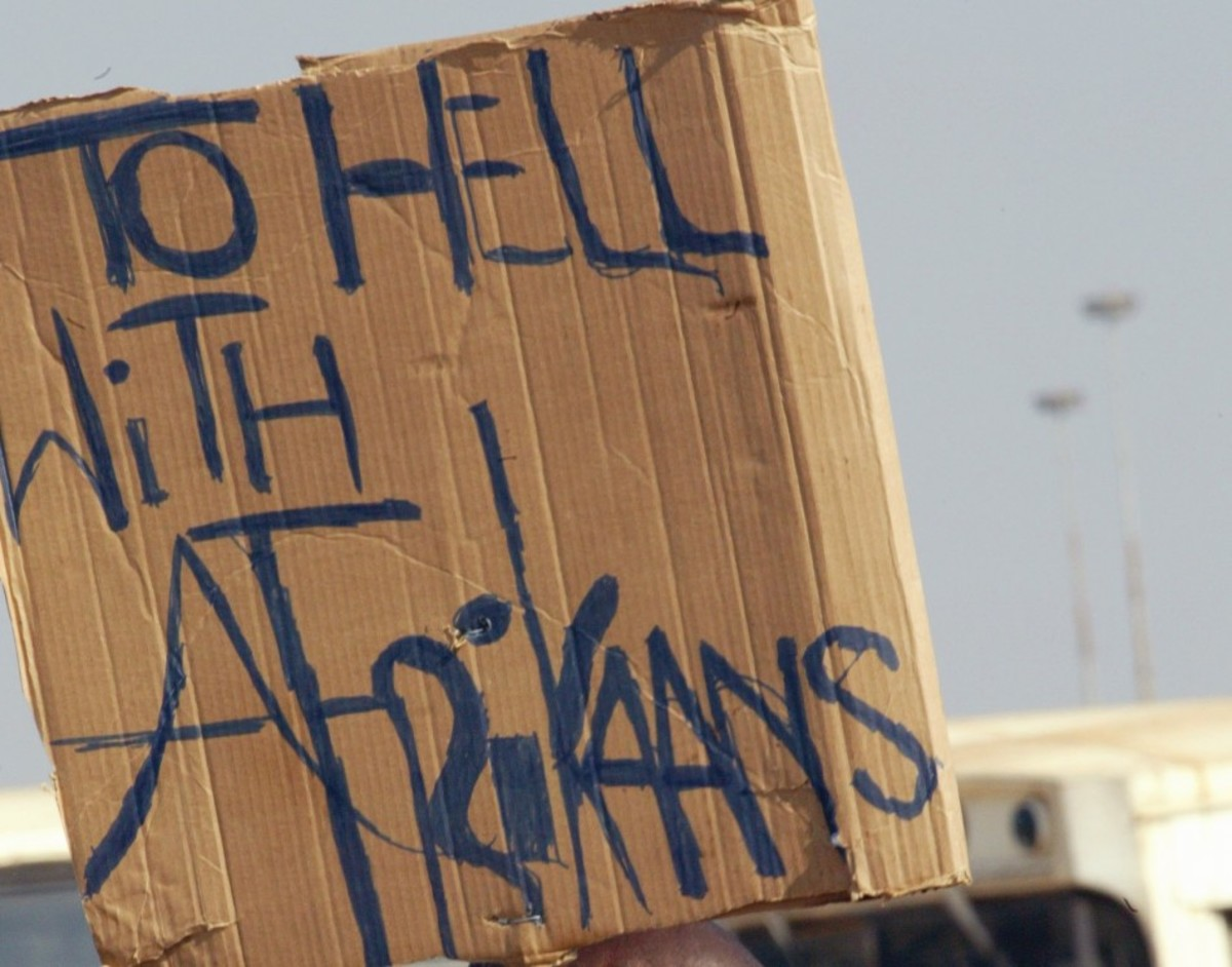 We Rejected And Fought Against The Implementation of Afrikaans in Our Schools in 1976