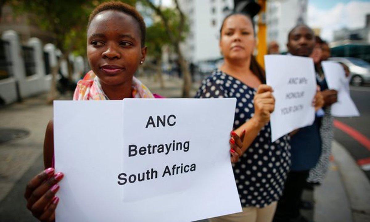 This is the Zeitgeist AmongThe Poor Africans Of Mzantsi_ANC Poor Governance