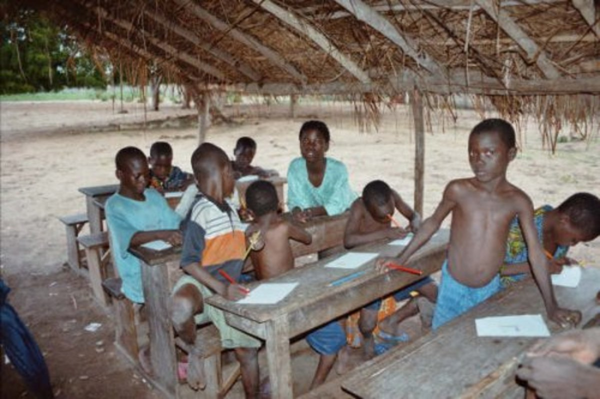 African Students Start Their Education With A Disadvantage in All Manners/forms Of Pedagogy
