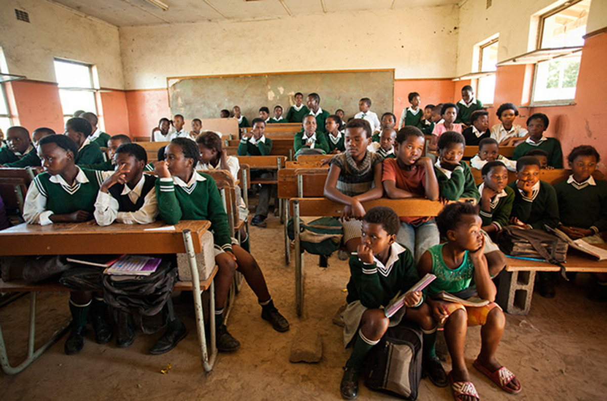 These are some of the conditions our children are faced with and have to endure daily in their classrooms here in south Africa..