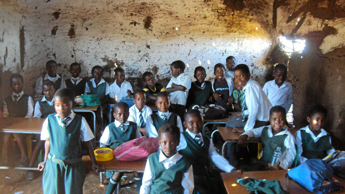 Bomvini Primary School In The Eastern Cape, Today In South Africa