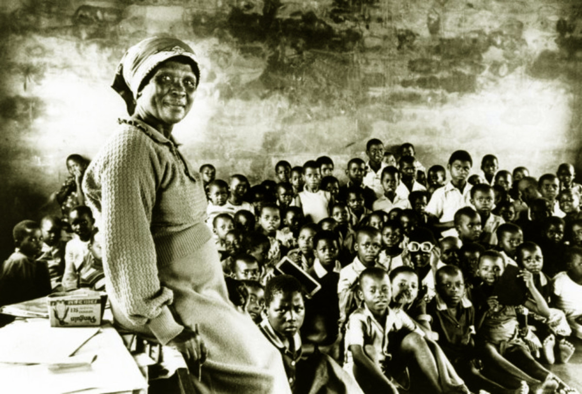 Education During And Under Apartheid in the 1959s and 1960s...