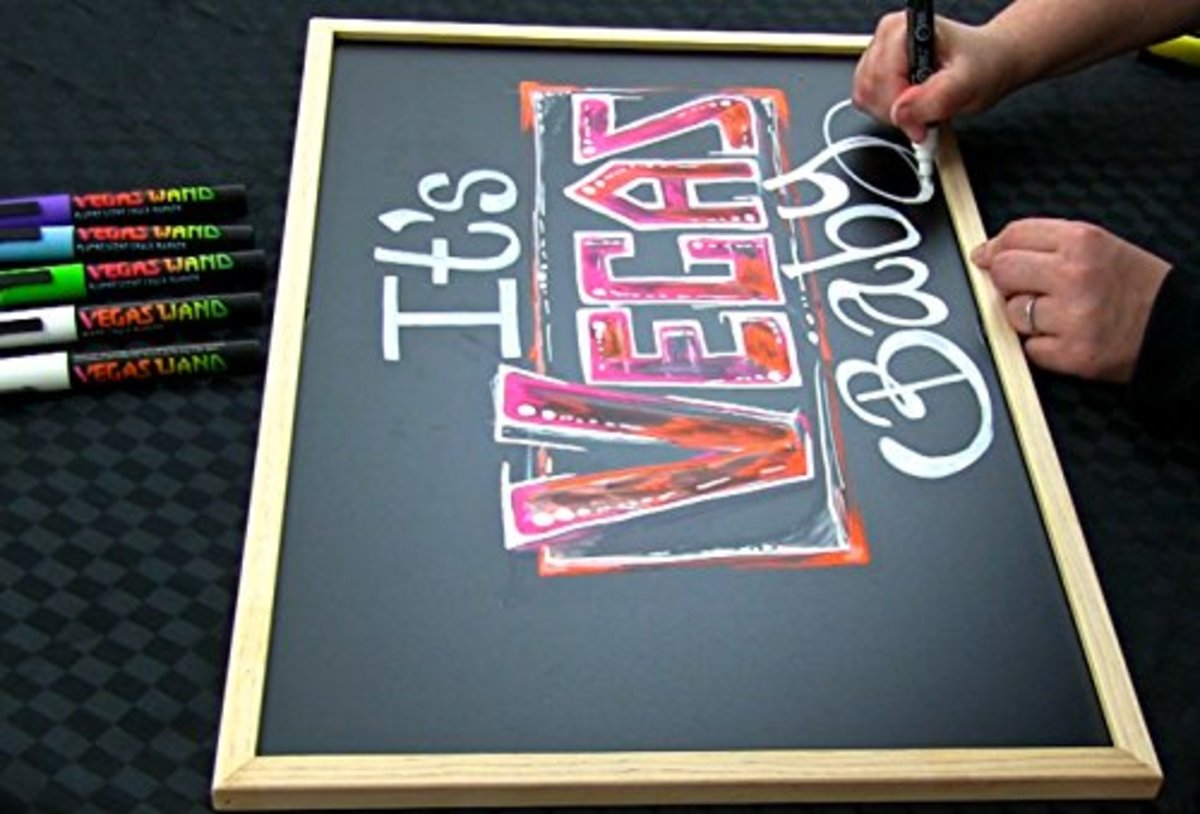 Chalk Pens used for Art