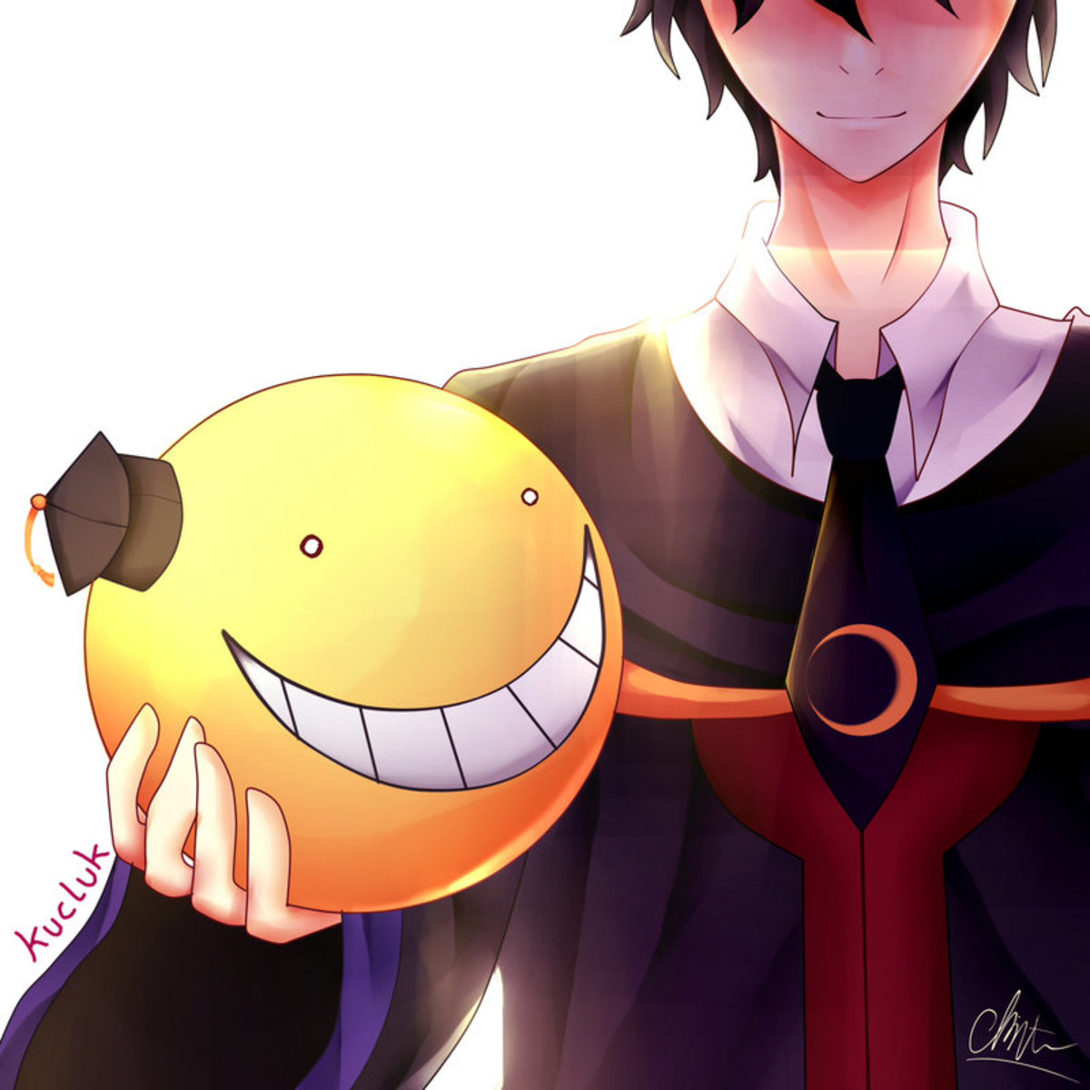 Korosensei in his human form.