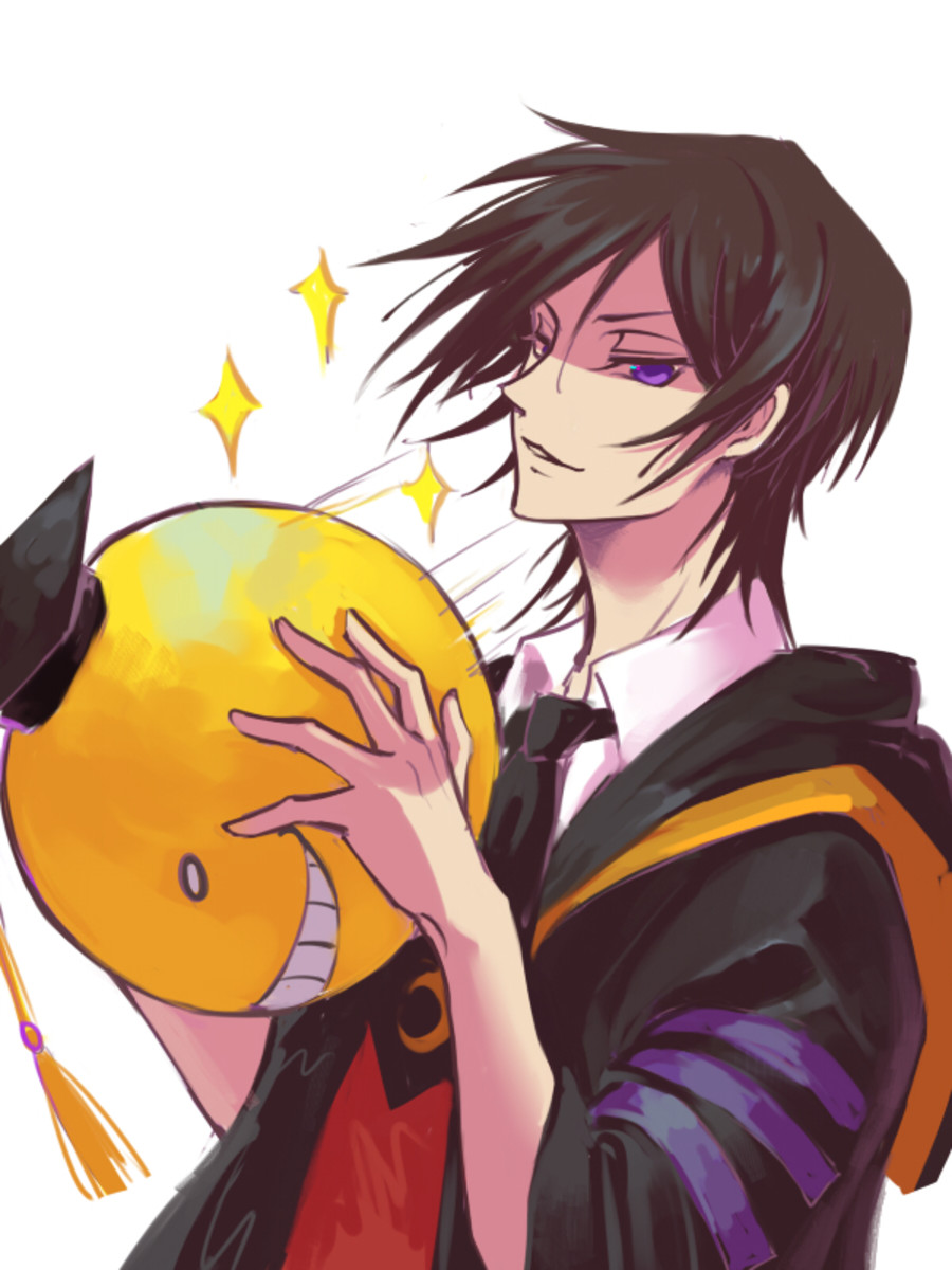 Lelouch as Korosensei.