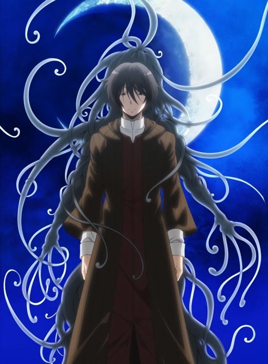 Korosensei: human and monster form.