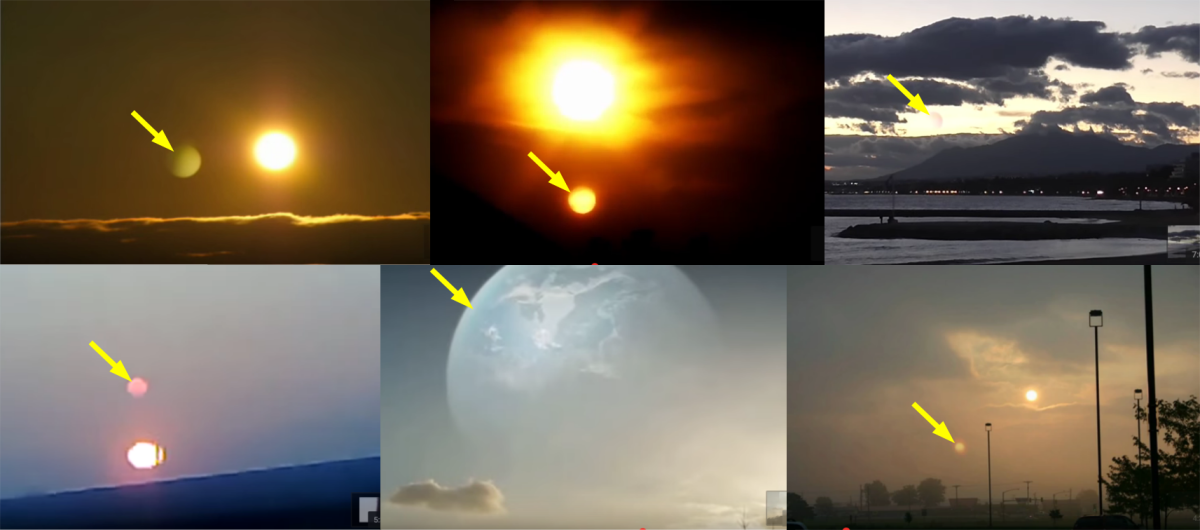 Why ALL Footage of the alleged Nibiru is NONSENSE. If it would be real all alleged Nibirus would be at the same place relative to the Sun.