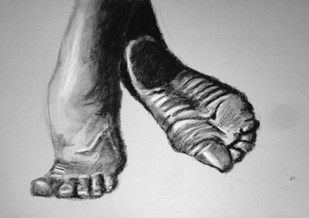 Dancers.  Foot Exercise #21
