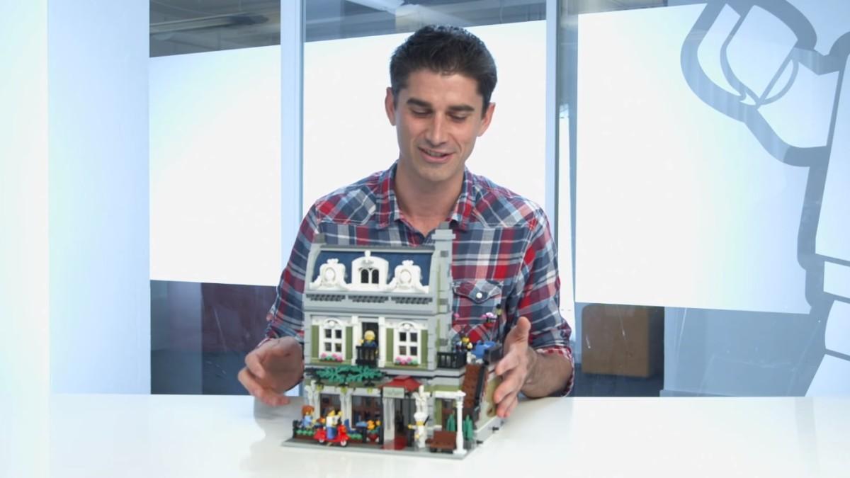 LEGO Creator Parisian Restaurant Modular Building