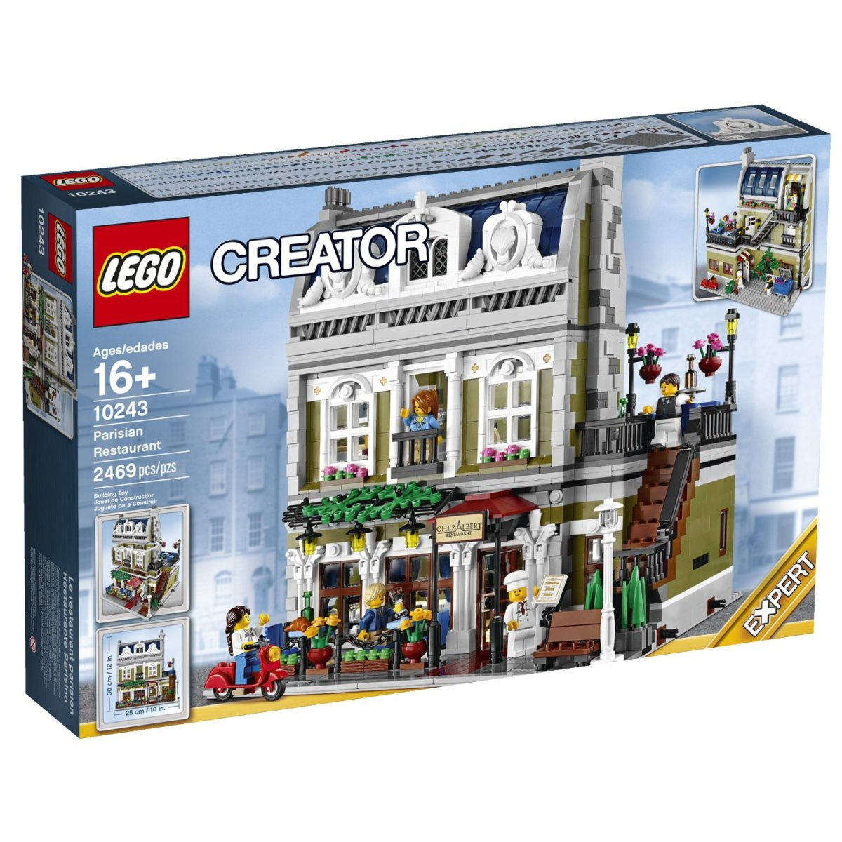LEGO Creator Parisian Restaurant Modular Building   HubPages