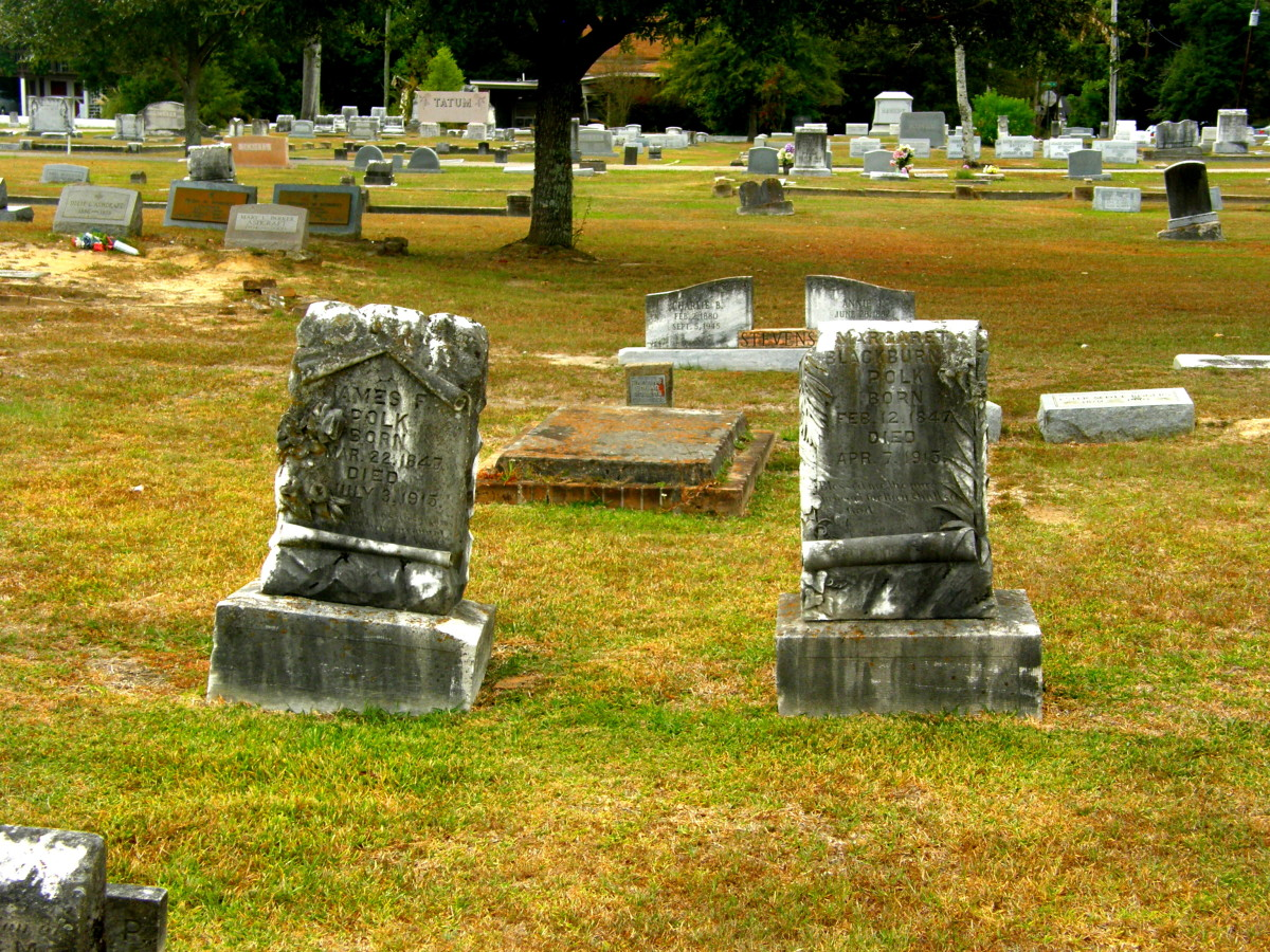 Tales of love in the graveyard.  This couple died weeks apart.