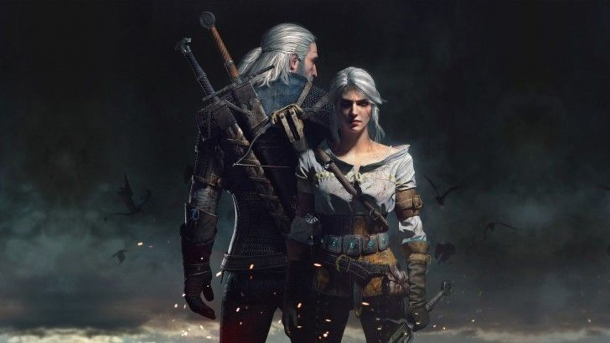 Geralt and Ciri as they appear in Witcher 3: Wild Hunt