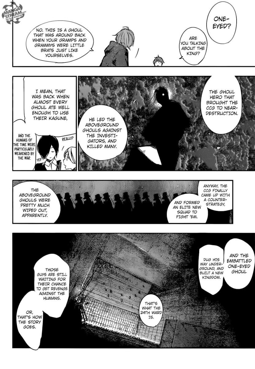 Nishio talking about the past king.