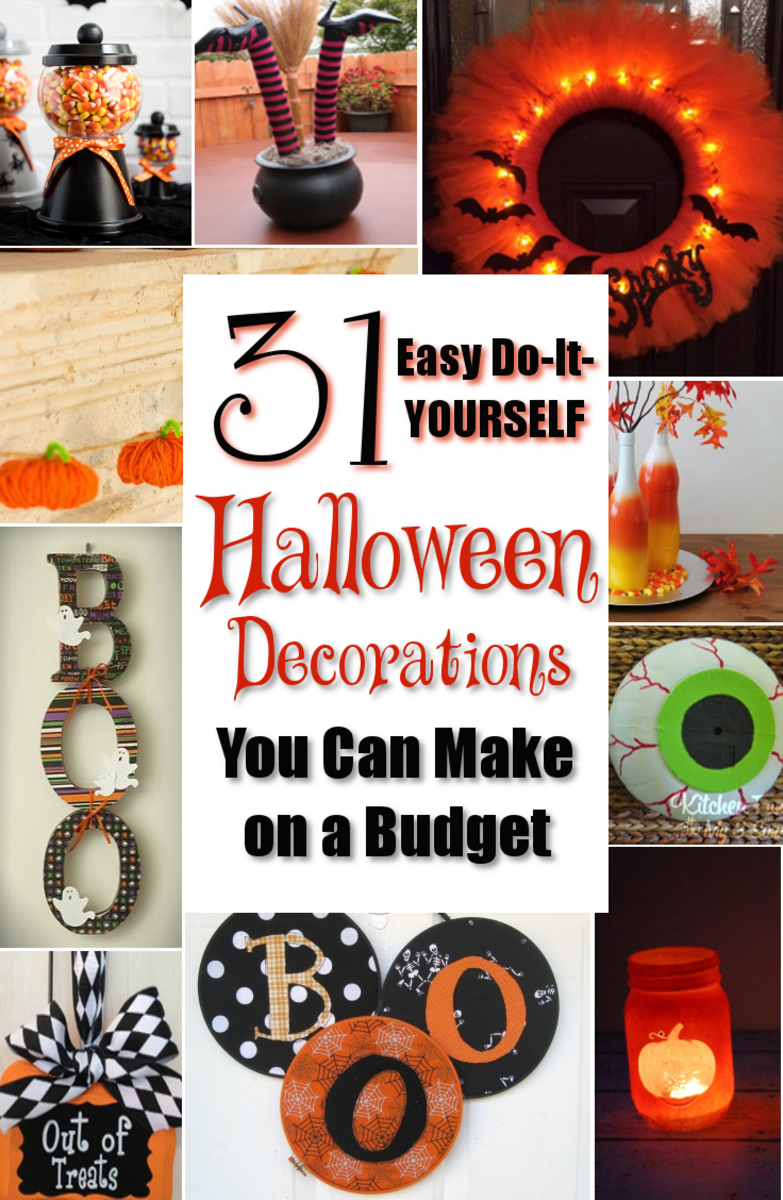 31 Easy DIY Halloween Decorations