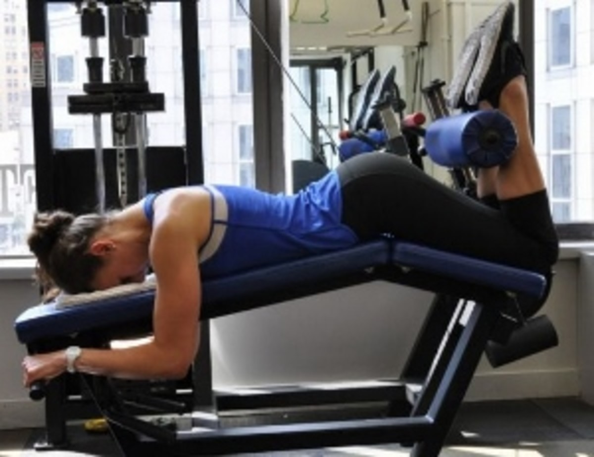 Leg Curl: A general strength movement focusing on the hamstrings.