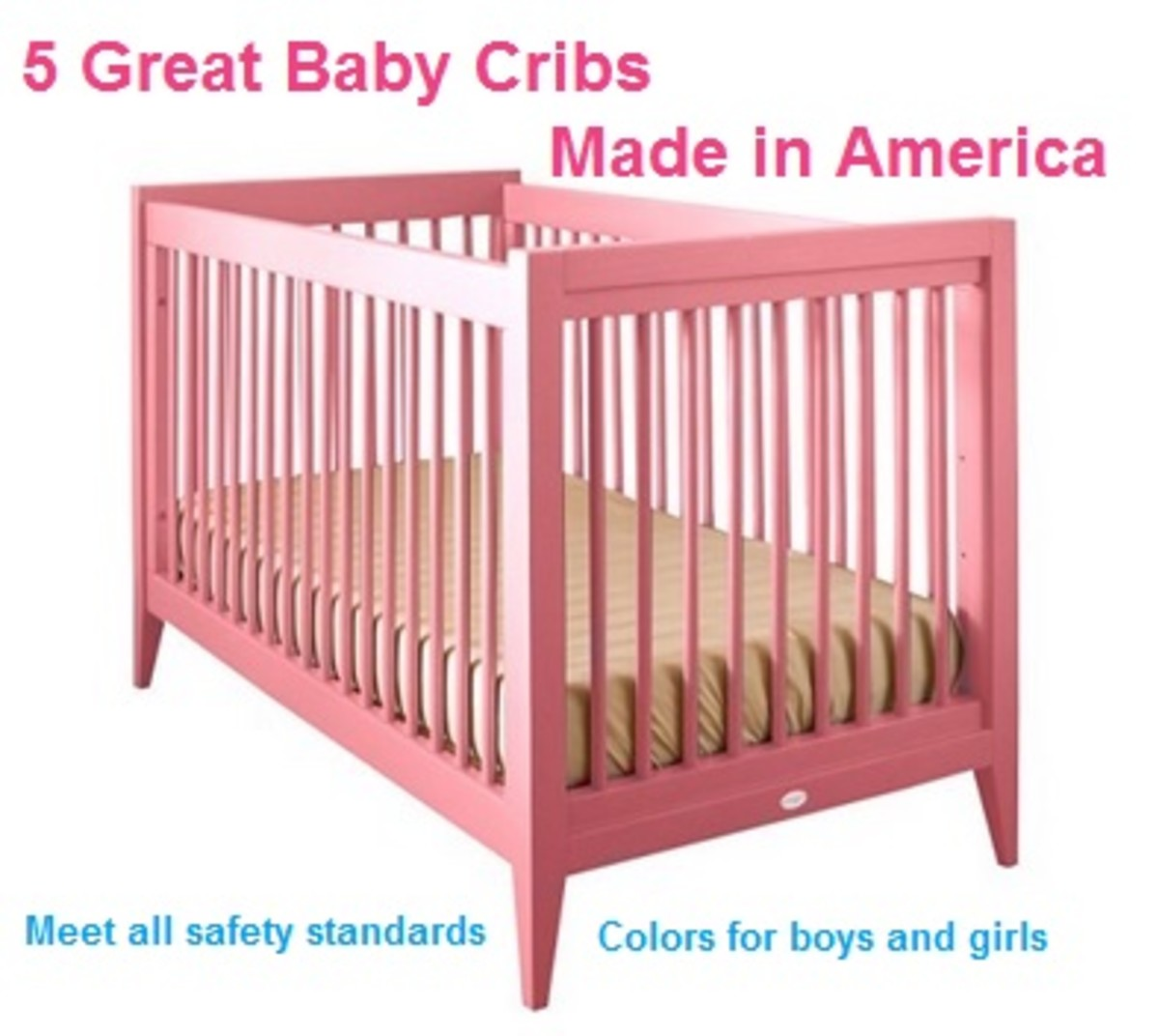 5 Beautiful Baby Cribs Made in the USA