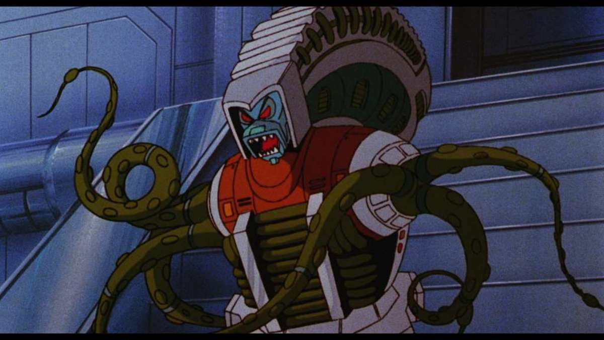 """One of the Quintessons from """"The Transformers: The Movie."""""""