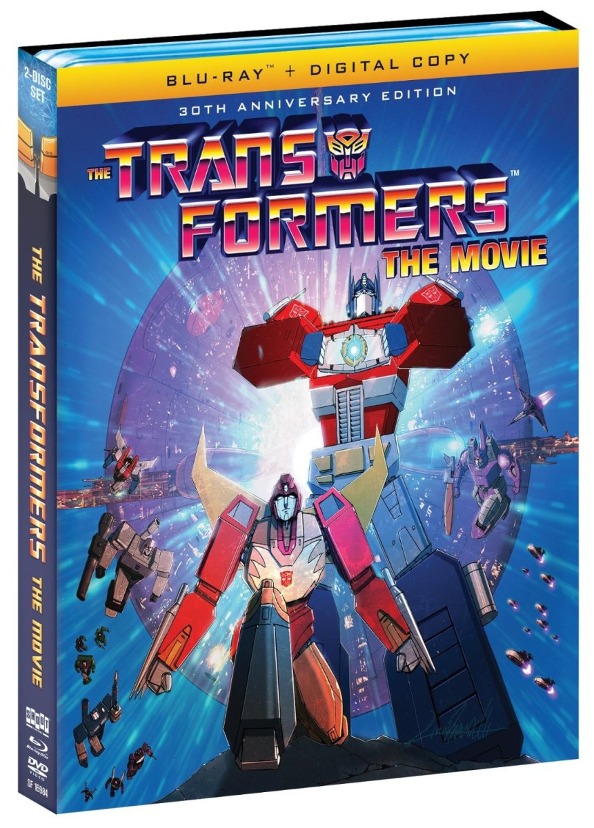 Blu Ray Review The Transformers The Movie 30th