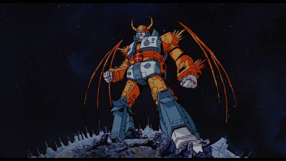 """Unicron, voiced by Orson Welles, in """"The Transformers: The Movie."""""""