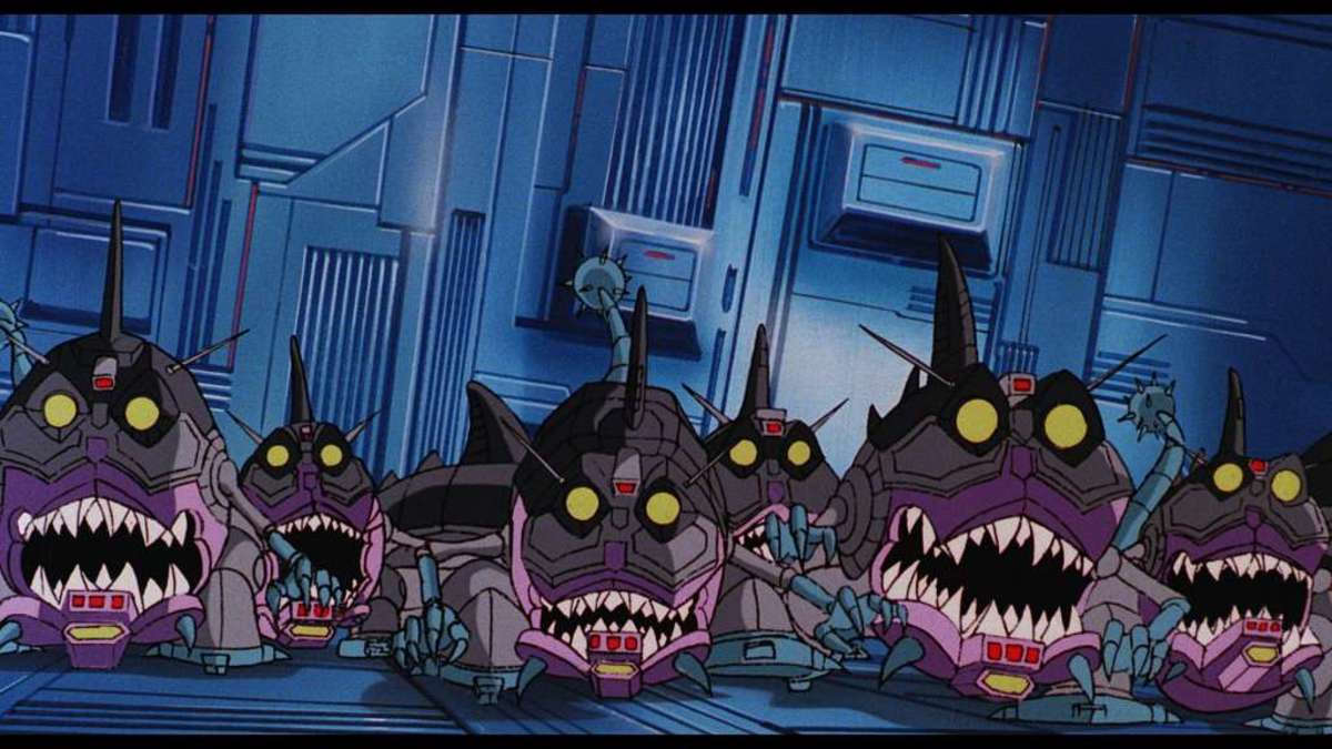 """The Sharkticons of """"The Transformers: The Movie."""""""