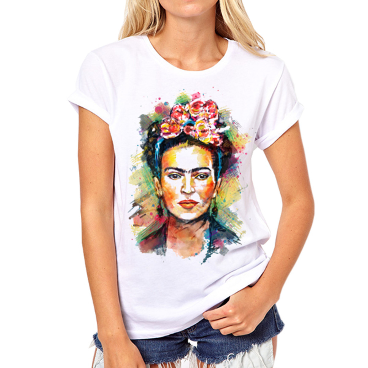 Only one example of the endless Frida merchandise for sale