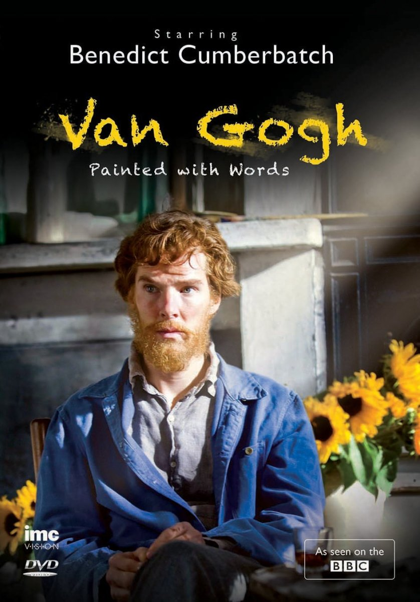 "British actor Benedict Cumberbatch as Van Gogh in the 2010 TV film ""Van Gogh: Painted with Words"""