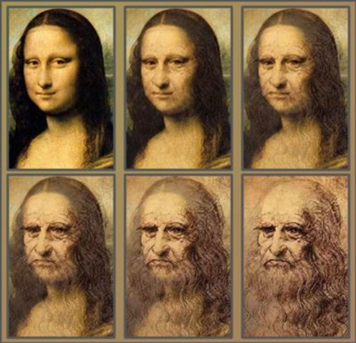 Some see a striking resemblance between the artist and his sitter. Some even believe it could be a self-portrait of Da Vinci as a woman