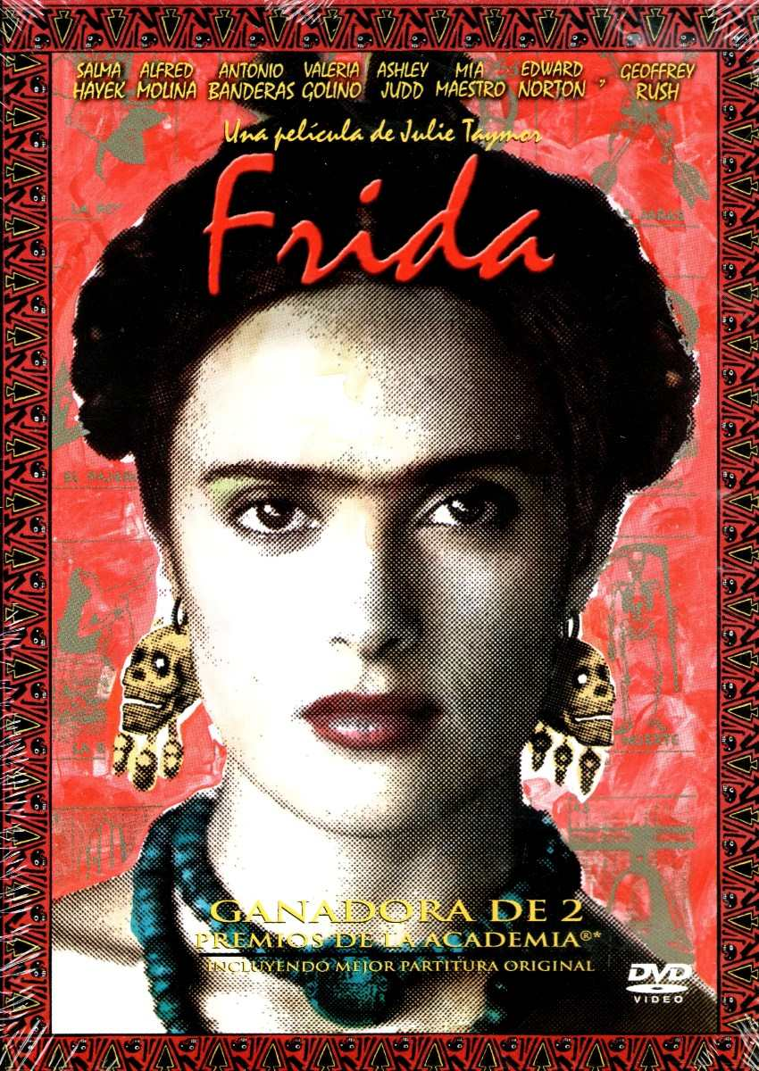 "Movie poster of the 2002 film ""Frida"""