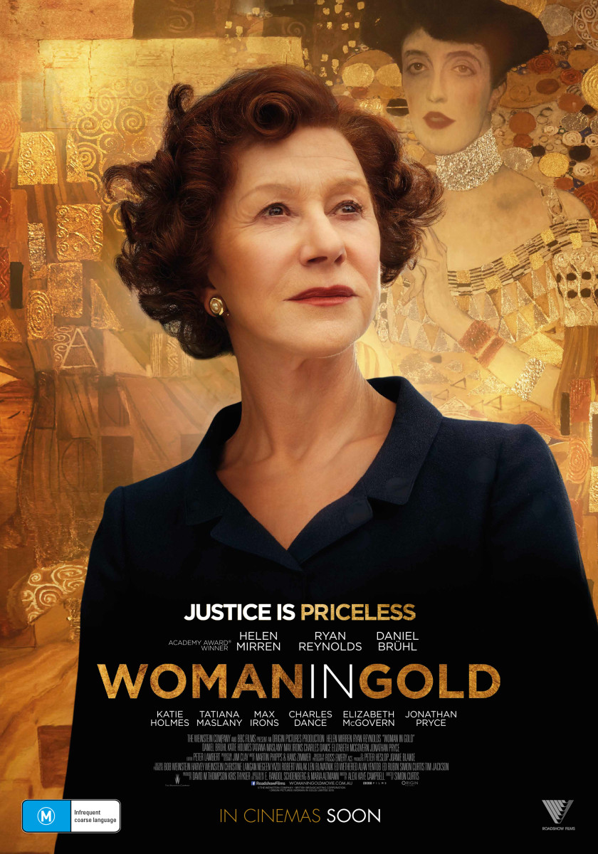 """Woman in Gold"" movie poster, 2015"