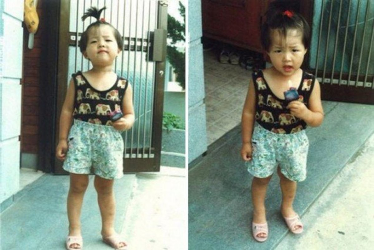 Cute Childhood and Baby Photos of Famous Korean Drama Actors