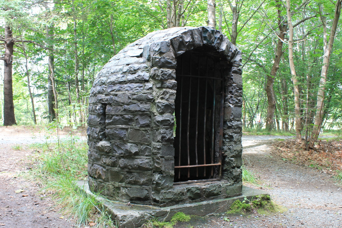 The old Squire's Well, which is claimed by many to be haunted, and has been featured on an episode of Creepy Canada.