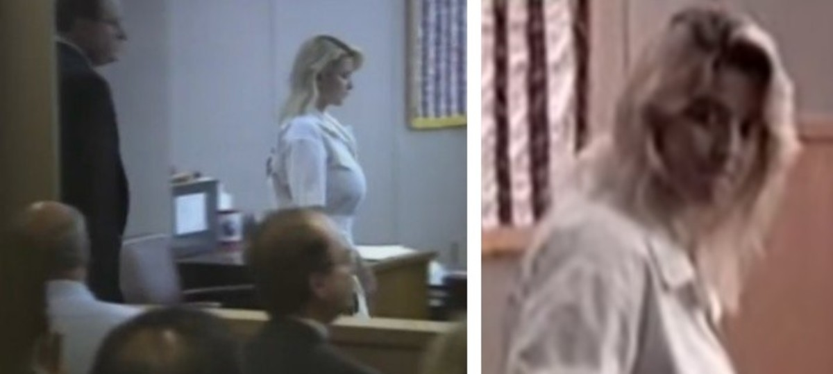 Darlie at her arraignment