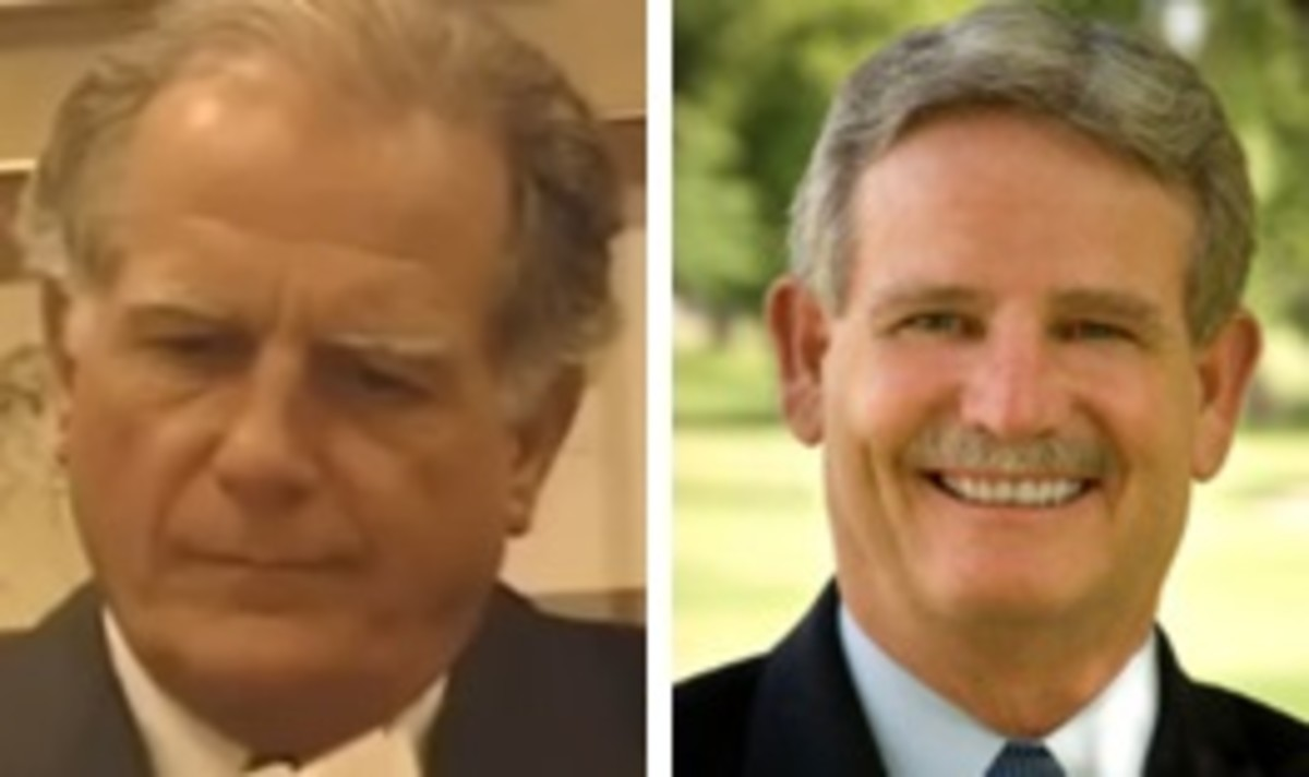 The Defense. Doug Mulder (recently deceased) and Richard Mosty