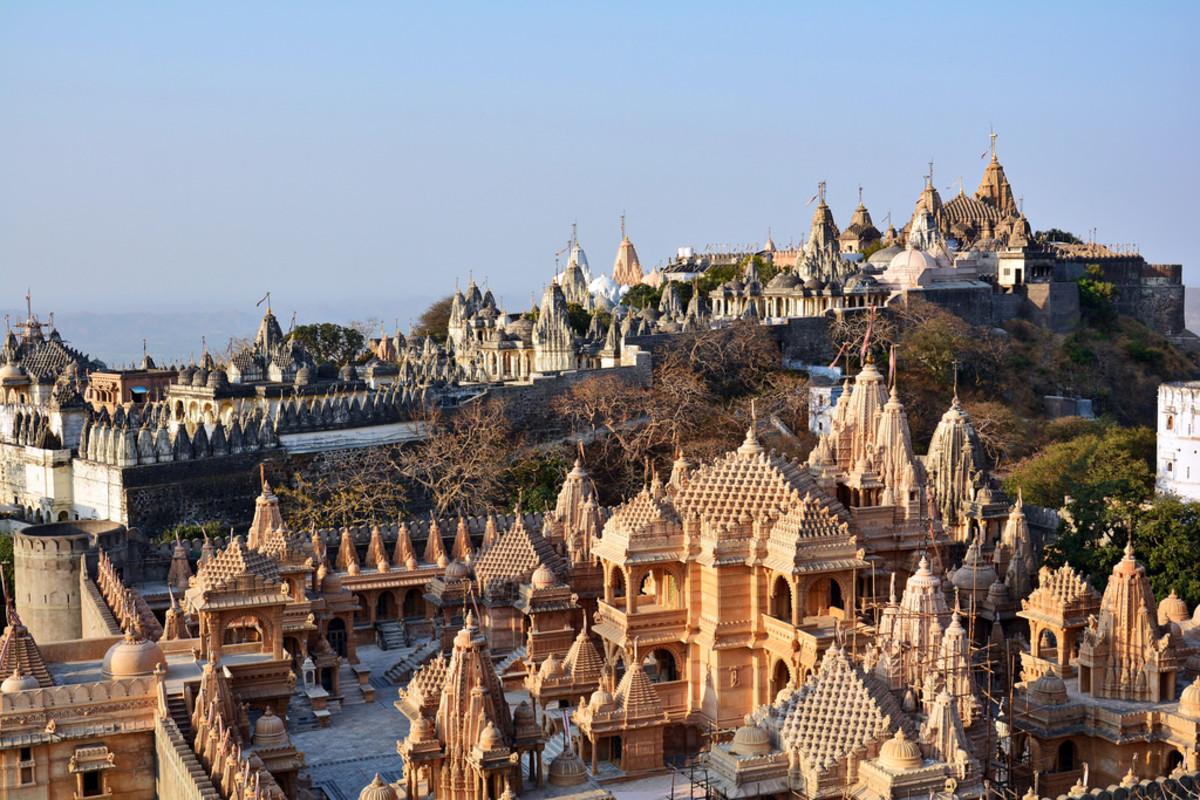 Jain Temples of mount Shatrunjaya in Palitana, Gujarat