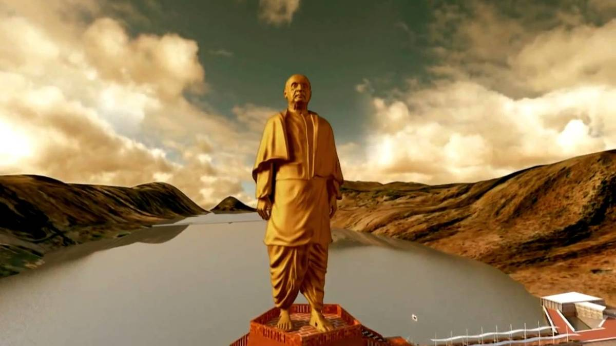 World's Tallest Statue, Height: 597.113 feet (182 meters)