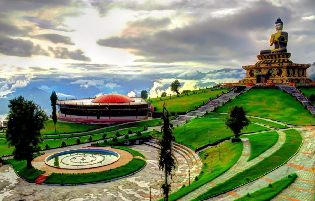 The Buddha Park of Ravangla, Sikkim