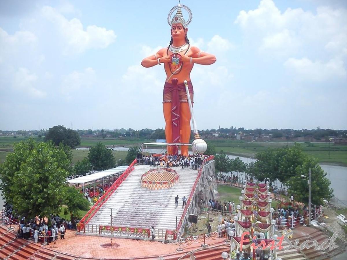 Lord Hanuman Temple Shahjahan Pur, Uttar Pradesh