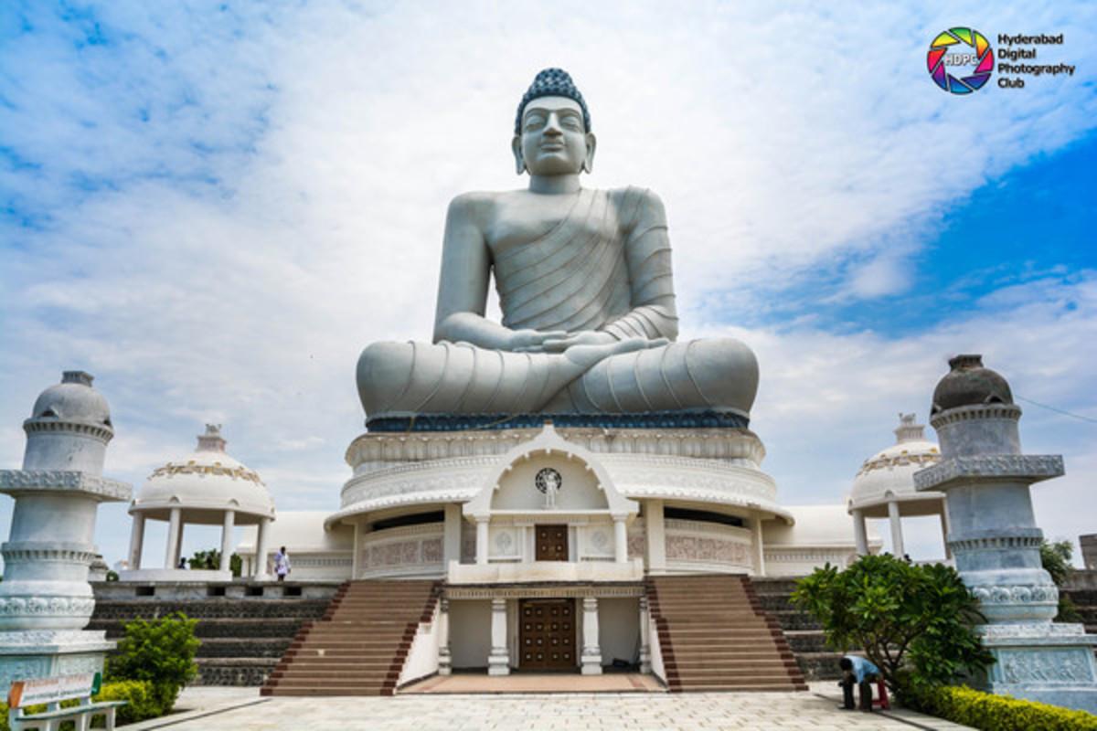 Buddha Statue of Amaravathi Buddha Park, Andhra Pradesh