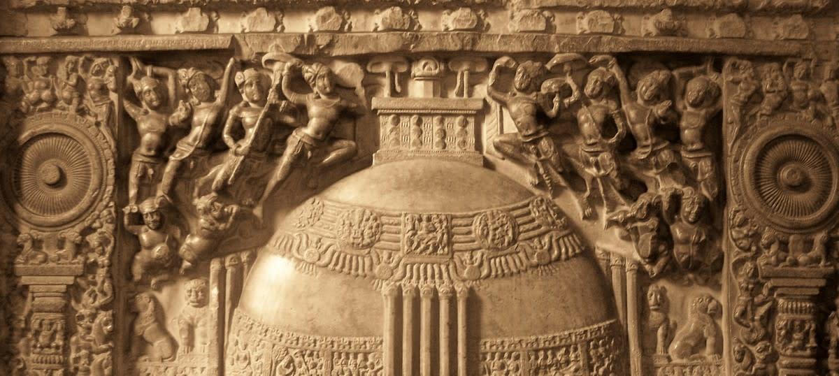 Amaravati Stupa sculptures