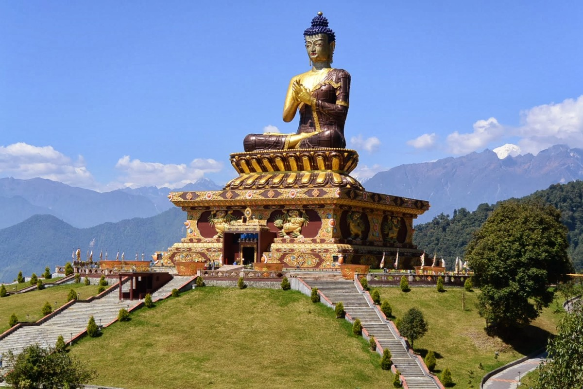 The Buddha Park of Ravangla, Sikkim