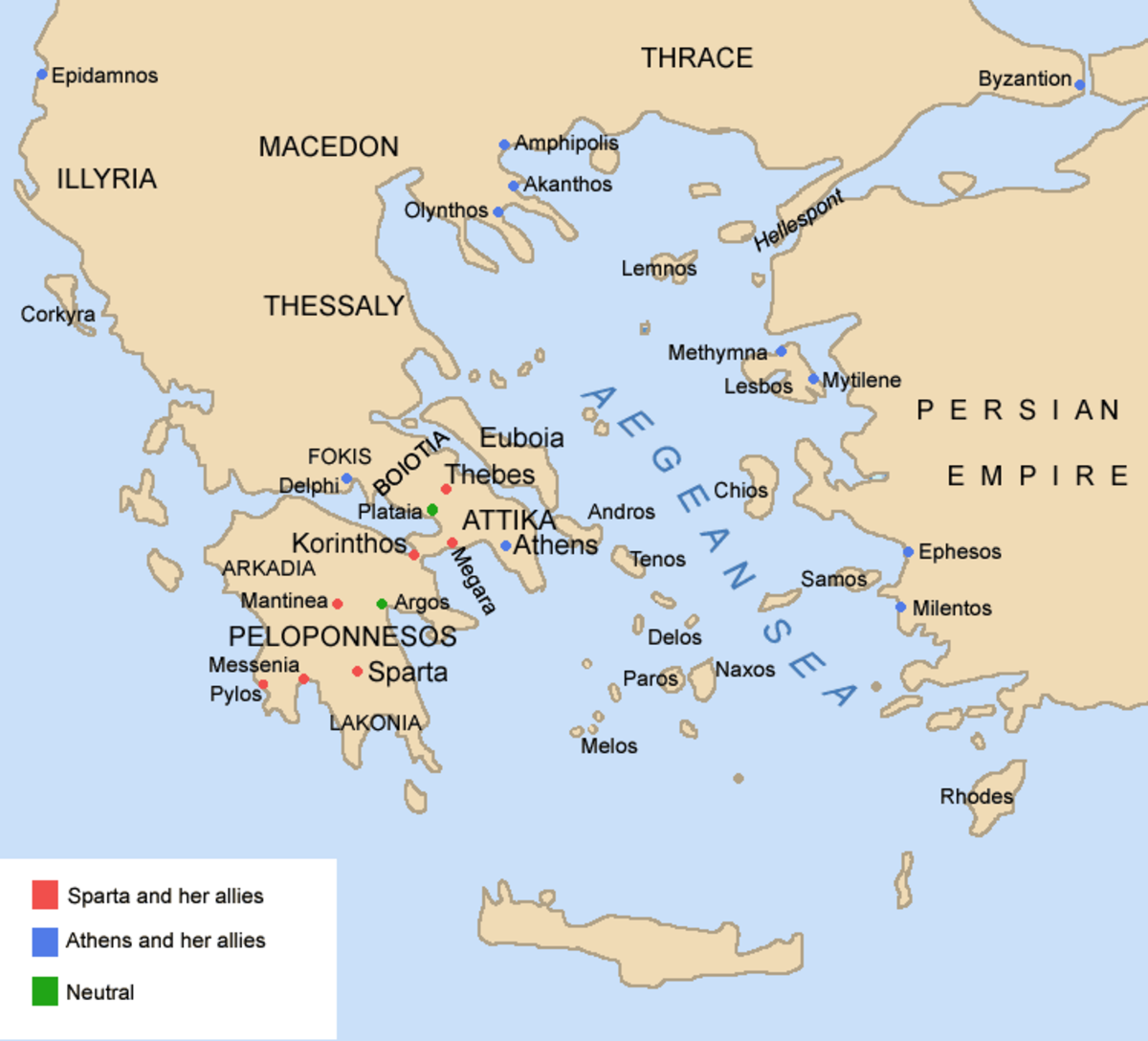 Could the Peloponnesian War Have Been Avoided?